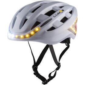 Lumos Kickstart Helm Pearl White
